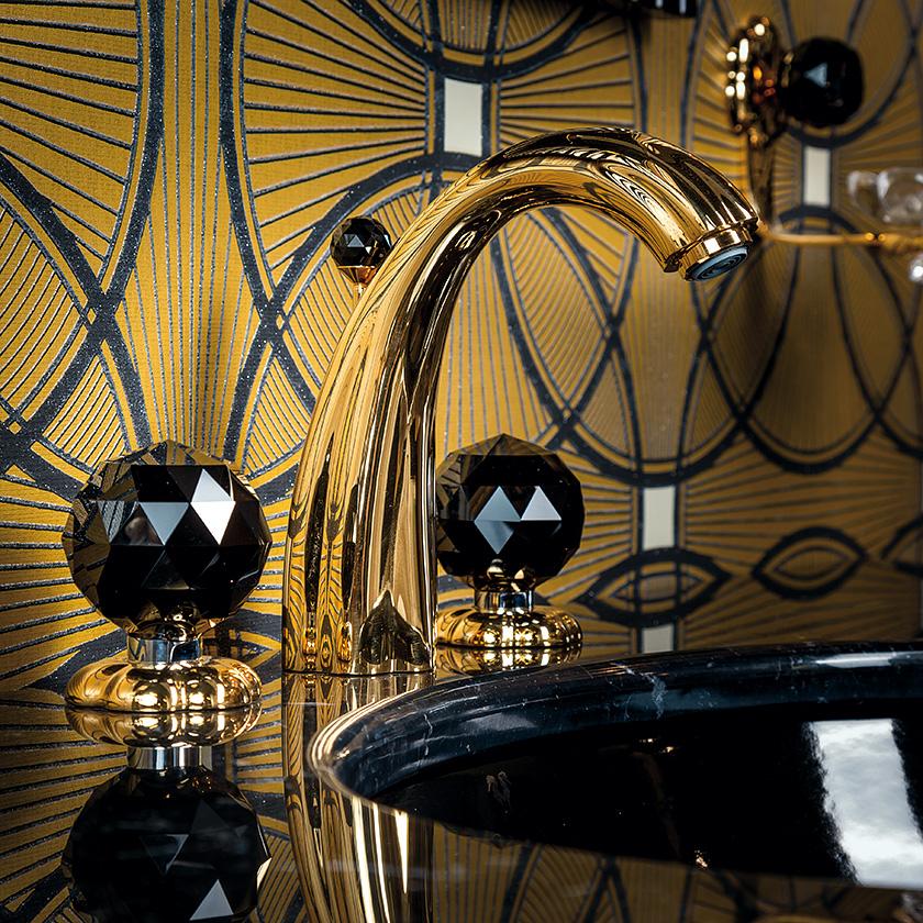 Luxus Badarmaturen luxus avantgarde erlesener glanz mit ösen momenten