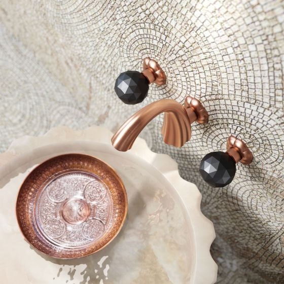 Florale Crystal in Rose Gold matt Spa Morocco
