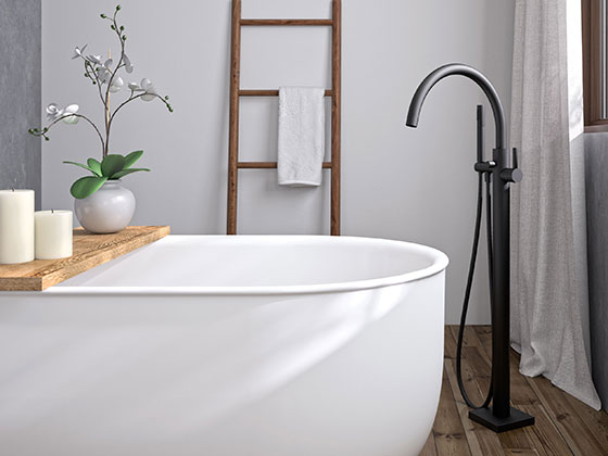 Freestanding bathtub fittings: How to make the right choice