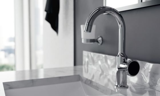 JOeRGER Valencia Single lever washbasin mixer in chrome II2