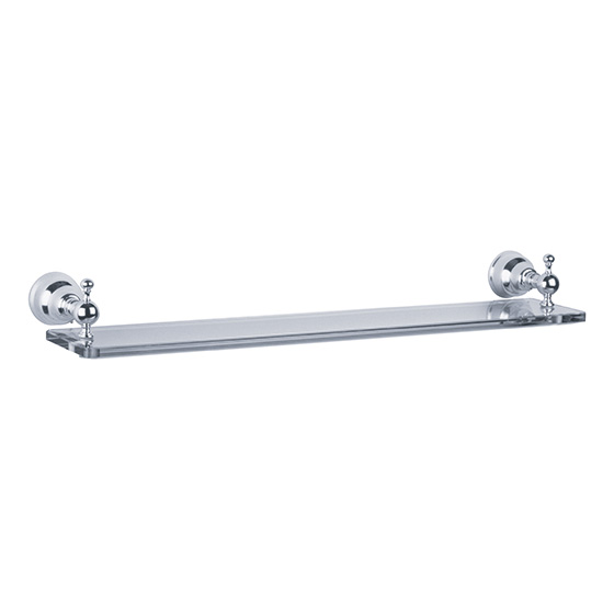 Accessories - Shelf holder with glass, 600 mm - Article No. 109.00.009.xxx