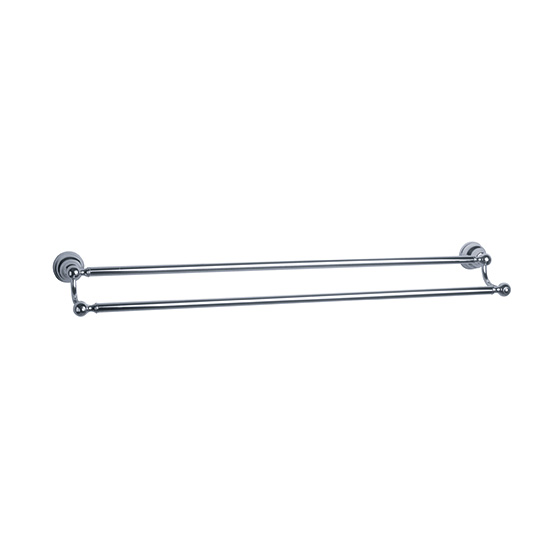 Accessories - Bath towel bar, double - Article No. 109.00.041.xxx