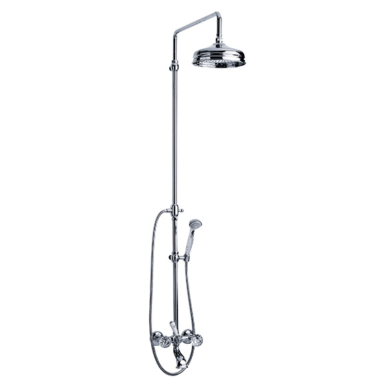 "Bath tub mixer - Exposed tub/shower mixer ½"", set with shower system  - Article No. 600.20.390.xxx-AA"