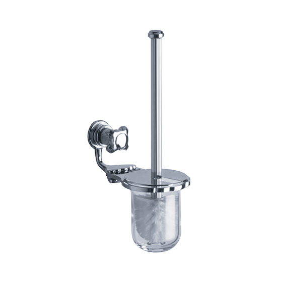 Accessories - Toilet brush holder set, complete - Article No. 607.00.000.xxx