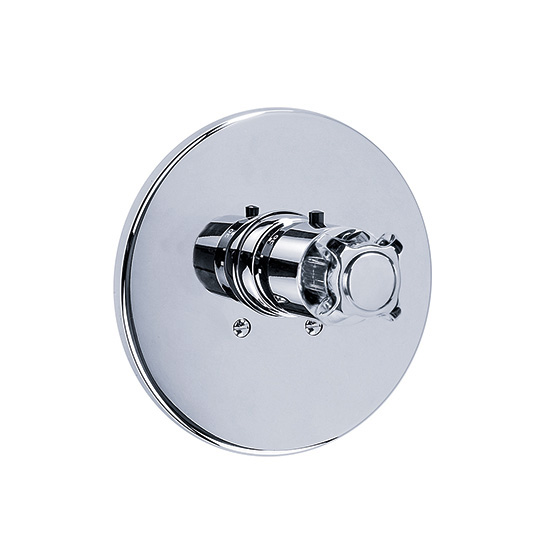 "Shower mixer - Concealed wall thermostat ¾"" without flow control, assembly set - Article No. 607.40.560.xxx"