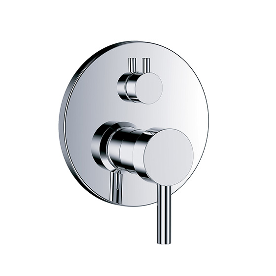 "Shower mixer - Concealed single lever wall tub and shower mixer ½"", assembly set with functional unit - Article No. 615.20.125.xxx"