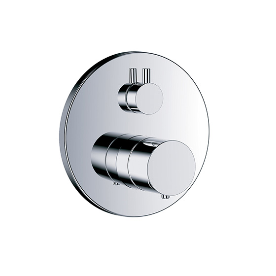 "Shower mixer - Concealed wall thermostat ½"" with flow control and diverter,assembly set with functional unit - Article No. 615.40.380.xxx"