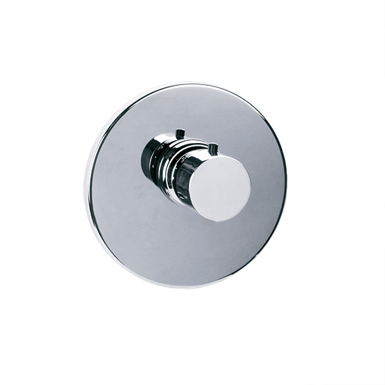 "Shower mixer - Concealed wall thermostat ¾"" without flow control, assembly set - Article No. 615.40.555.xxx"