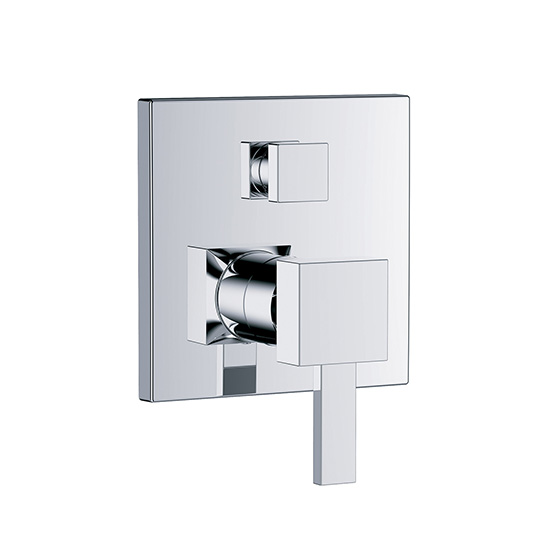 "Shower mixer - Concealed single lever wall tub and shower mixer ½"", assembly set with functional unit - Article No. 621.20.125.xxx"