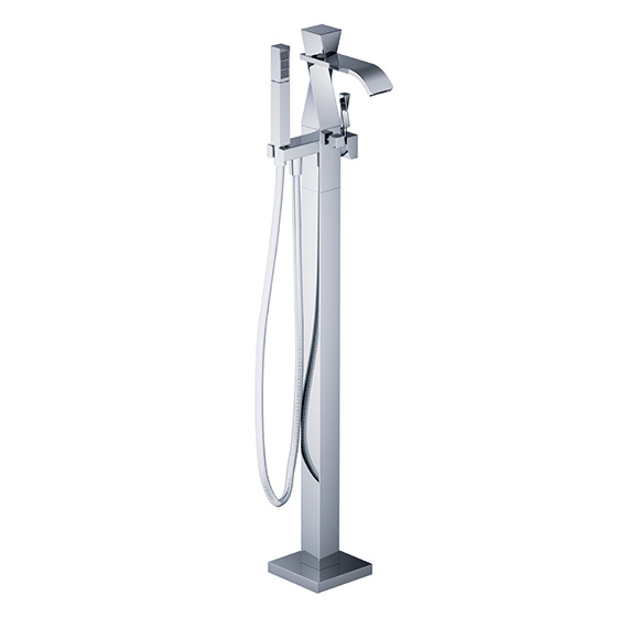 Bath tub mixer - Tub/shower mixer for floor standing mounting,assembly set - Article No. 623.10.820.xxx