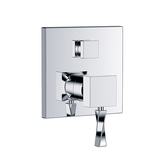 "Shower mixer - Concealed single lever wall tub and shower mixer ½"",assembly set with functional unit - Article No. 623.20.125.xxx"