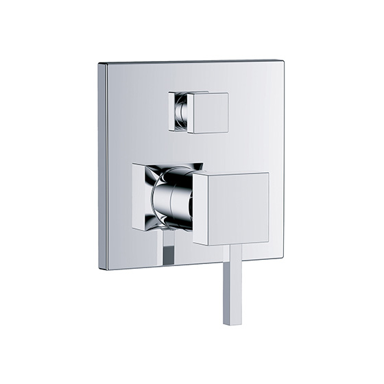 "Shower mixer - Concealed single lever wall tub and shower mixer ½"", assembly set with functional unit - Article No. 626.20.125.xxx"