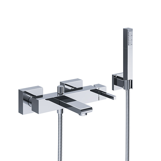 "Bath tub mixer - Single lever exposed tub/shower mixer ½"", incl. shower set - Article No. 626.20.500.xxx"