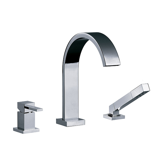 "Bath tub mixer - Single lever tub/shower mixer set ½"", deck mount - Article No. 626.30.444.xxx"