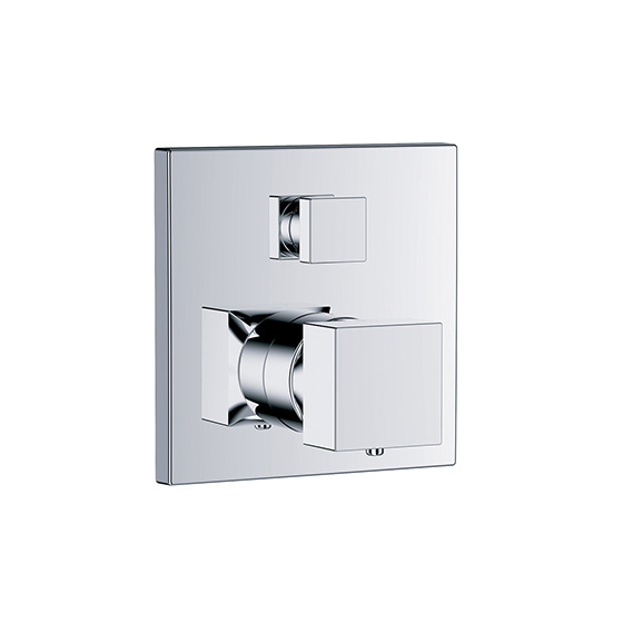 "Shower mixer - Concealed wall thermostat ½"" with flow control, assembly set with functional unit - Article No. 626.40.360.xxx"