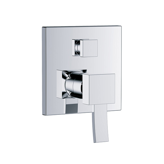 "Shower mixer - Concealed single lever wall tub and shower mixer ½"", assembly set with functional unit - Article No. 628.20.125.xxx"
