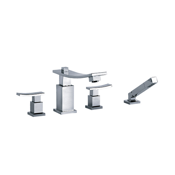 "Bath tub mixer - Tub/shower mixer set ½"" deck mount - Article No. 628.40.100.xxx"