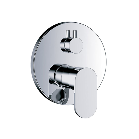 "Shower mixer - Concealed single lever wall tub and shower mixer ½"",assembly set with functional unit - Article No. 630.20.125.xxx"