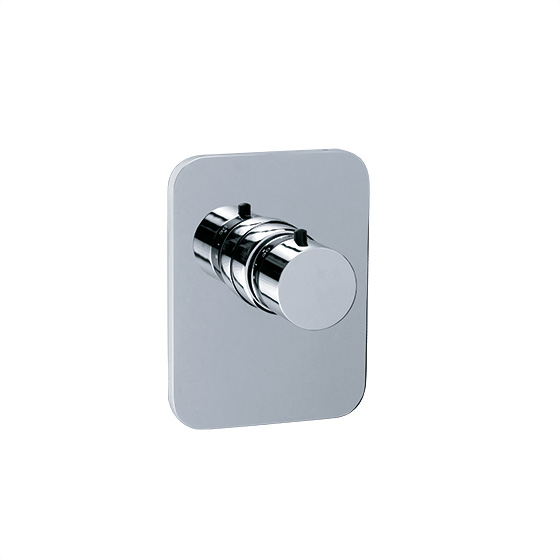 "Shower mixer - Concealed wall thermostat ¾"" without flow control, assembly set - Article No. 630.40.555.xxx"