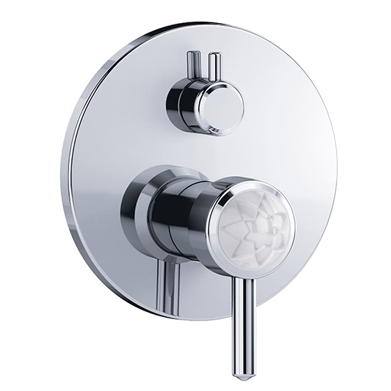 "Shower mixer - Concealed single lever wall tub and shower mixer ½"",assembly set with functional unit - Article No. 631.20.125.xxx-AA"