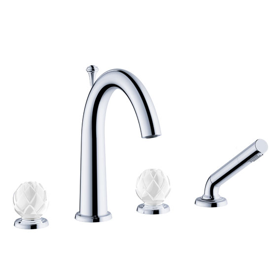 "Bath tub mixer - Tub/shower mixer set ½"" deck mount - Article No. 631.40.100.xxx-AA"