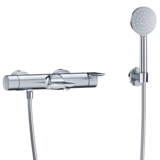 "Bath tub mixer - Exposed tub/shower mixer ½"", incl. shower set - Article No. 632.20.505.xxx"