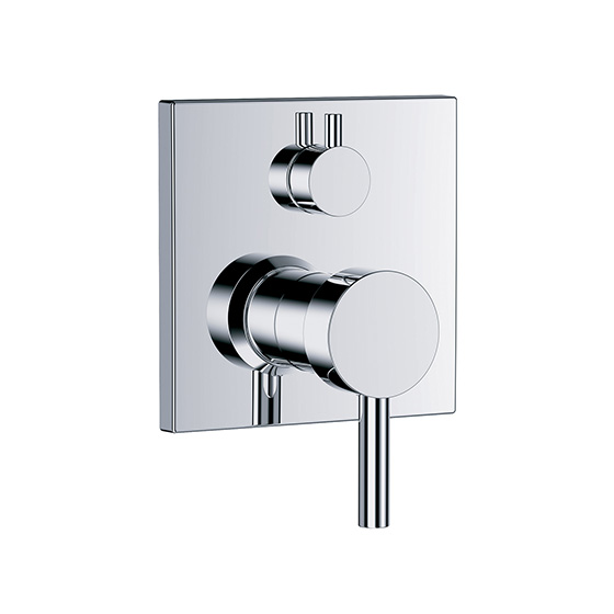 "Shower mixer - Concealed single lever wall tub and shower mixer ½"", assembly set with functional unit - Article No. 634.20.125.xxx"