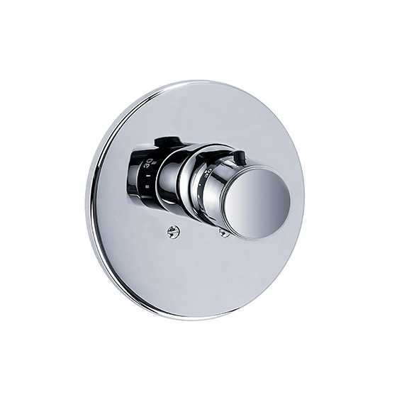 "Shower mixer - Concealed wall thermostat ¾"" without flow control, assembly set - Article No. 637.40.560.xxx"