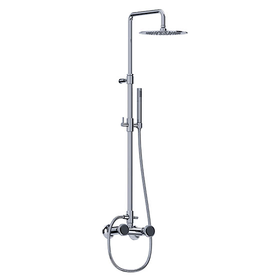 Shower mixer - Exposed set with shower system - Article No. 638.20.410.xxx-AA
