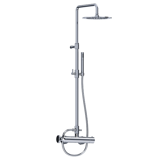 Shower mixer - Exposed set with shower system - Article No. 638.20.460.xxx-AA