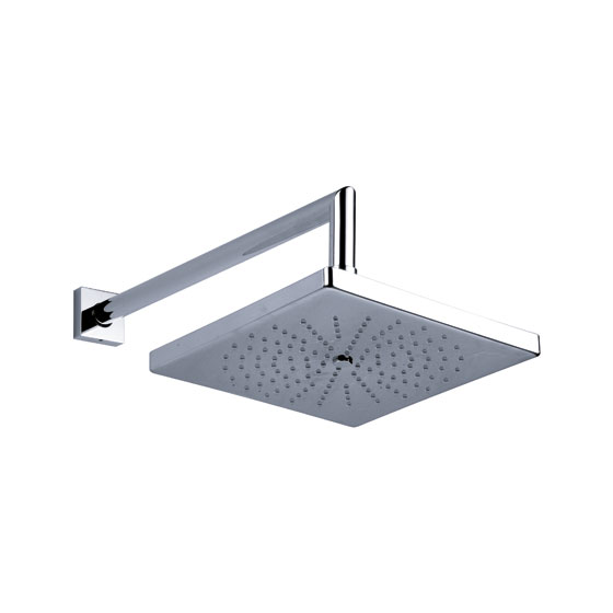 "Shower mixer - Rain shower head ½"", ø 200 mm - Article No. 649.13.970.xxx"