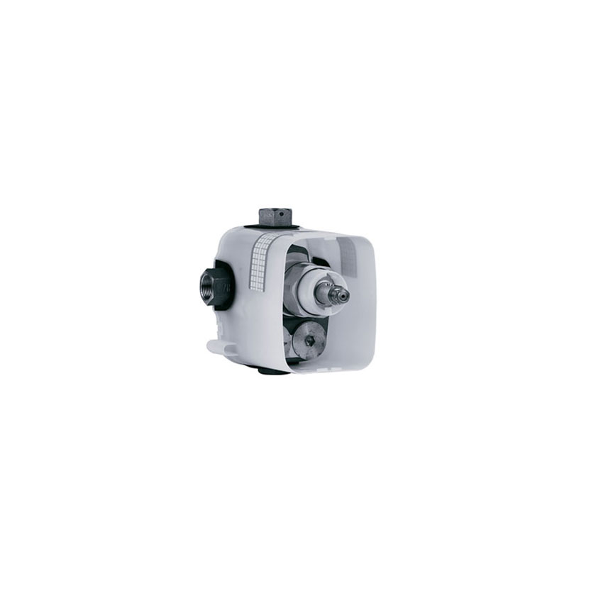 "Shower mixer - Concealed thermostat body ¾"" - Article No. 649.40.555.xxx"